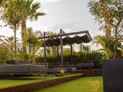 I prodotti Giulio Barbieri si fanno portatori del concetto di Bioedilizia applicata all'arredamento outdoor.