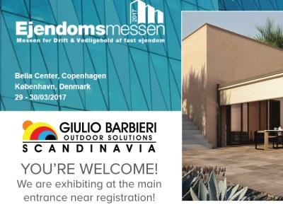 Giulio Barbieri Scandinavia alla Ejendomsmessens di Copenhagen