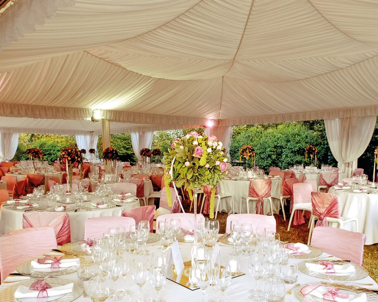 Gazebo per matrimoni per Happy Days