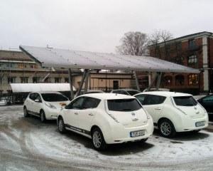 Stazione di ricarica per auto elettriche per Sustainable Actions, Svezia