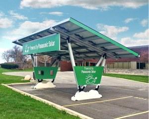 Carport fotovoltaico per Panasonic, USA