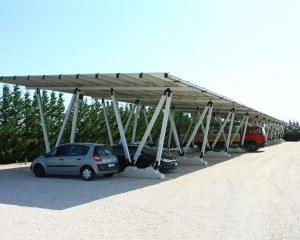 Pensilina fotovoltaia per la concessionaria Auto Di Carlo