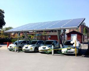 Stazione di ricarica per auto elettriche per Move About, Svezia
