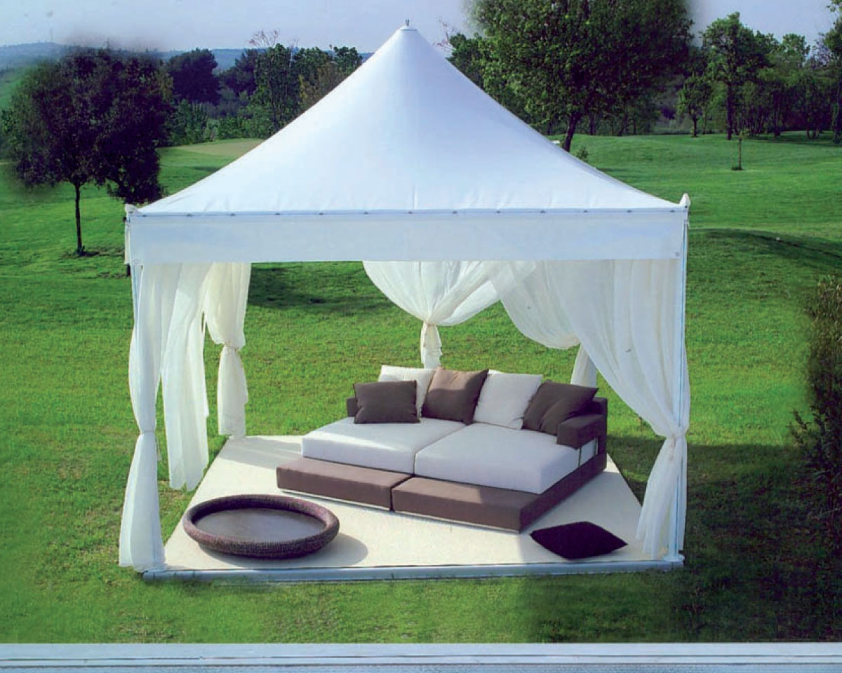 gazebo in alluminio Summer