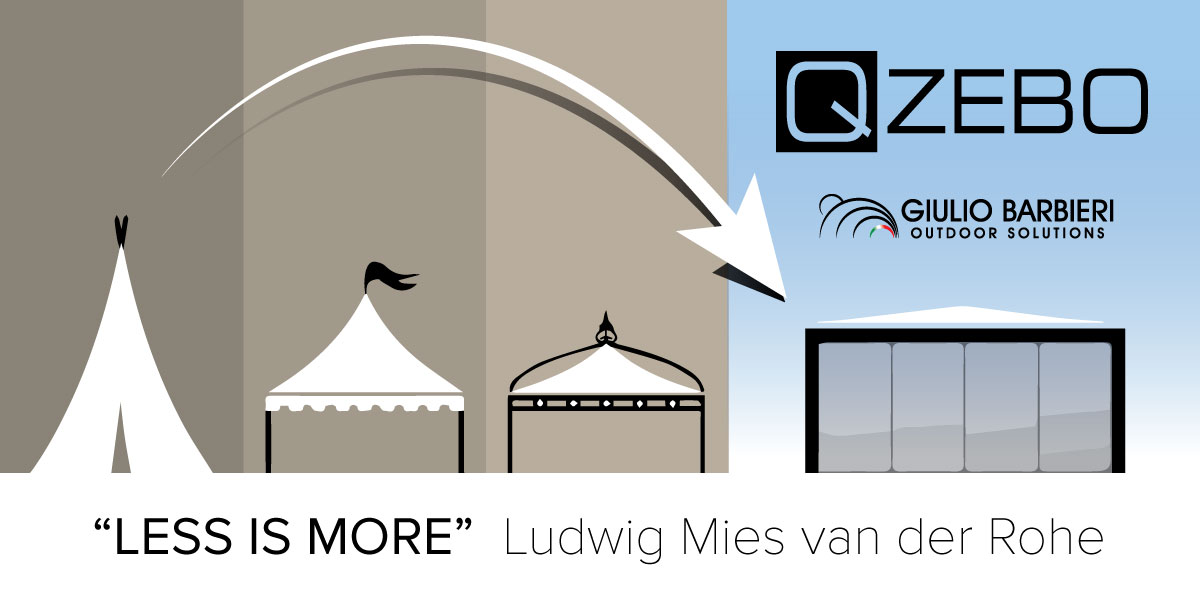 Storia del gazebo dalla tenda del deserto al design industriale