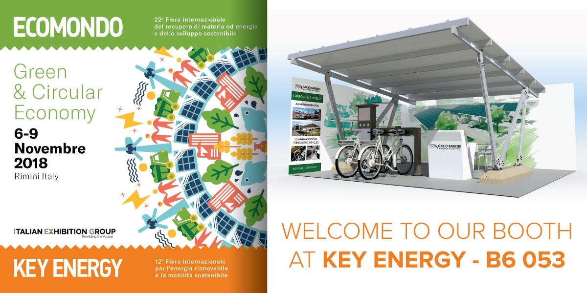 pensilina fotovoltaica per auto a Ecomondo