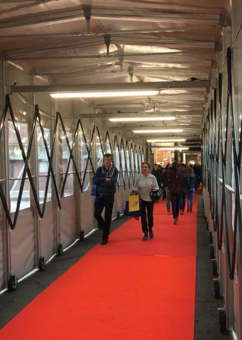 tunnel pedonale di collegamento - Brussels Expo