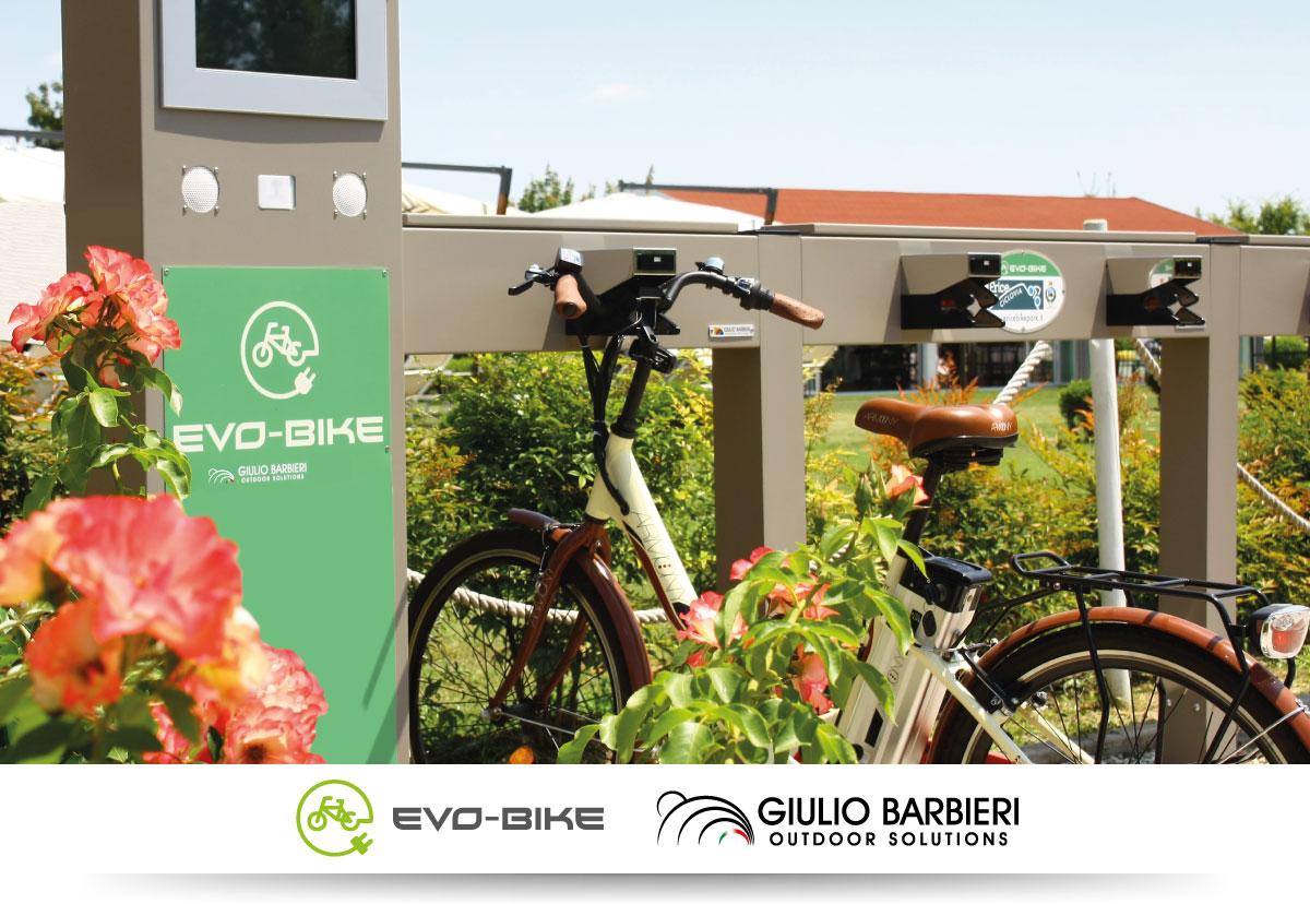 Stazioni di ricarica per biclette elettriche