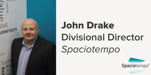 John Drake, Divisional Director, Spaciotempo