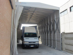 loading bay canopy