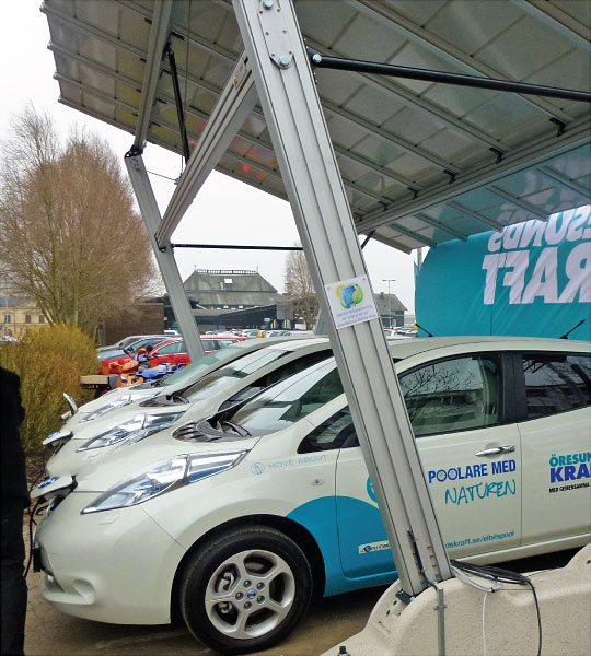 Energy Parking - Sveden - Nissan