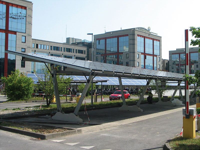 Energy Parking - S.I.G. Corporate Headquarters