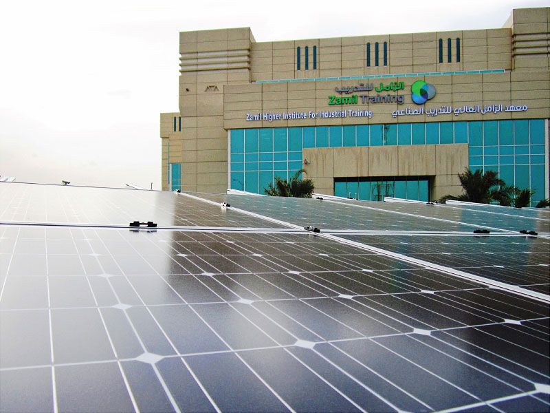 Energy Parking - Dammam (Saudi Arabia) - Zamil