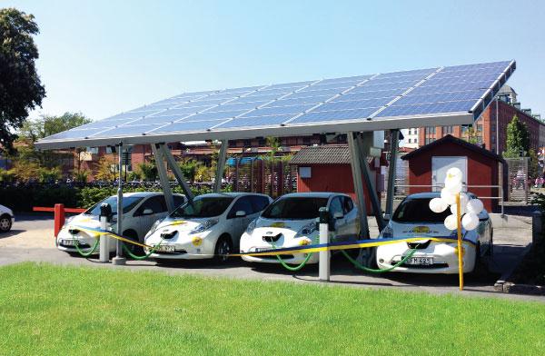 Solar aluminium carports