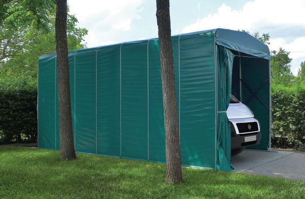 Tettoie per auto - Garage mobile per auto ...