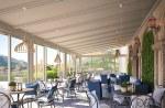 Pergola - veranda for restaurant