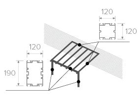 Reinforced Veranda Profiles