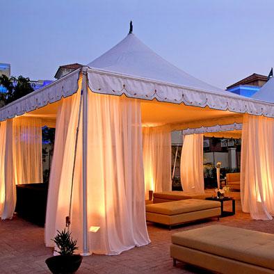 Gazebo professionali in alluminio per eventi, cerimonie, matrimoni, fiere e mercati, dehor per bar e locali.