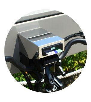 e-bike sharing -  socket