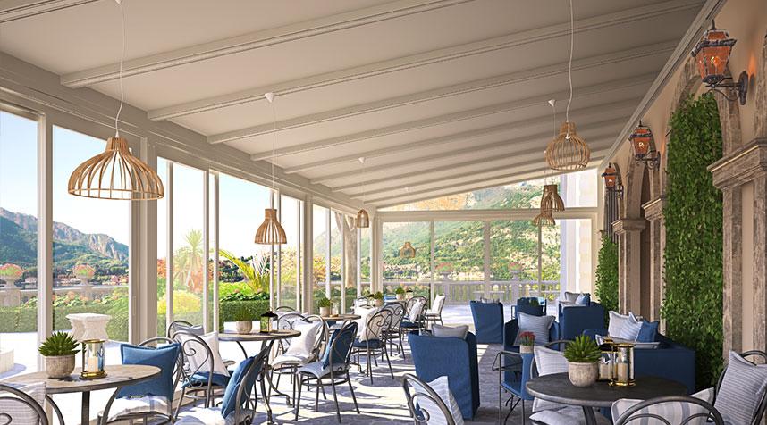 hospitality veranda