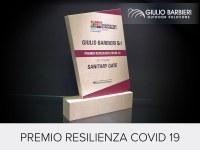 Giulio Barbieri riceve il Premio Resilienza Covid-19