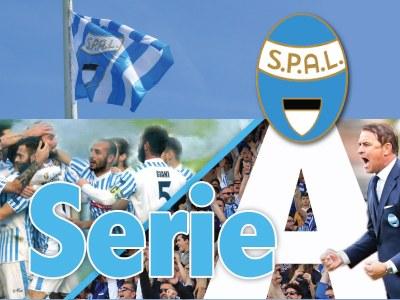 Giulio Barbieri sponsor della Spal che finalmente ha conquistato la Serie A dopo 49 anni