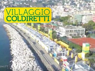 Un chilometro di gazebo Giulio Barbieri ha ospitato la qualità e le eccellenze della cucina tipica locale al Villaggio Coldiretti di Napoli