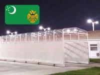 Un tunnel di collegamento per il presidente del Turkmenistan